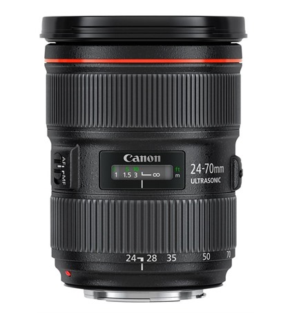 Canon EF 24-70mm f/2.8L II USM (New)