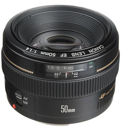 Canon EF50mm F1.4 USM (New)