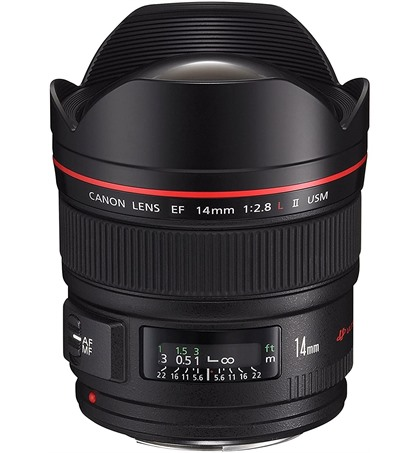 Canon 14mm f2.8L II USM (new)