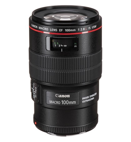 Canon EF 100mm f2.8L Macro IS USM (New)