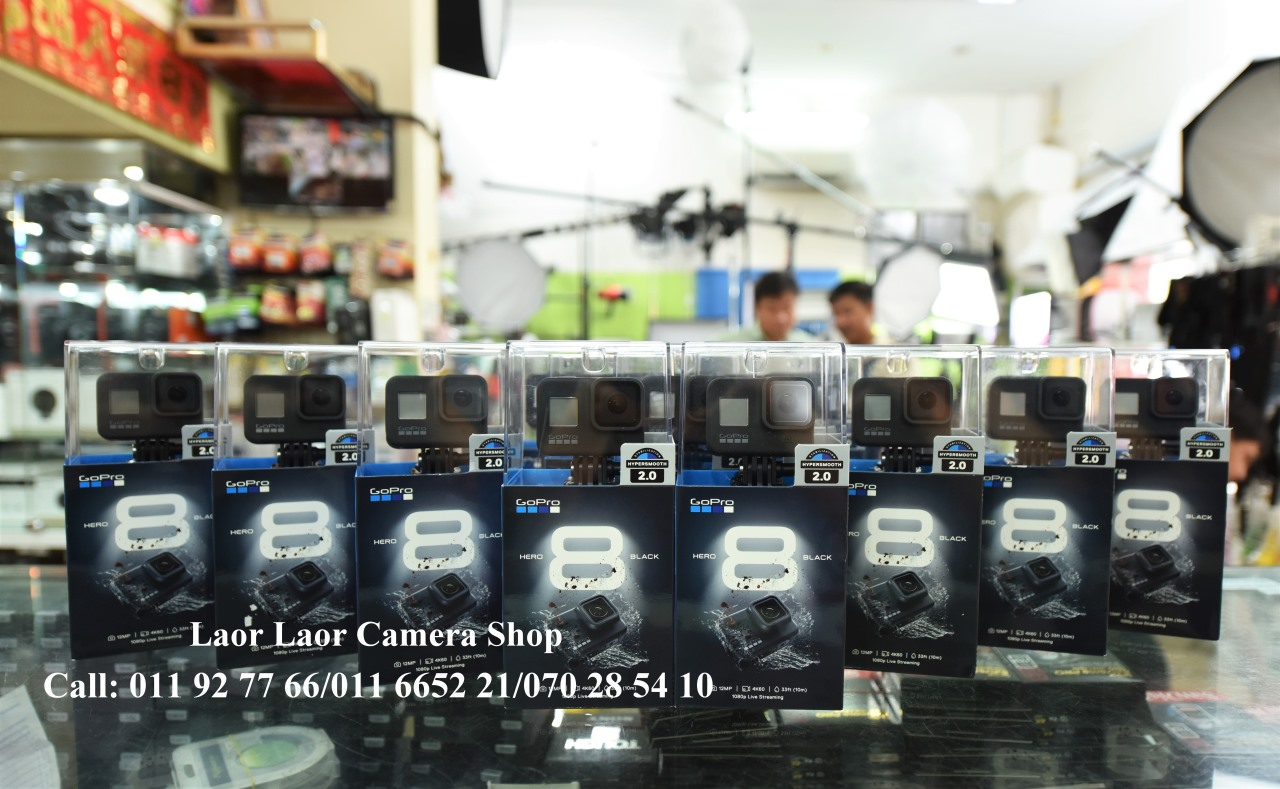 Gopro Hero8  set (new) - out of stock
